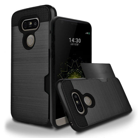 LG G5 - Slim Sleek Case with Credit Card Holder Case