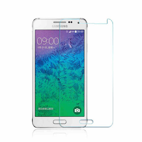 Samsung Galaxy Alpha - Premium Real Tempered Glass Screen Protector Film [Pro-Mobile]
