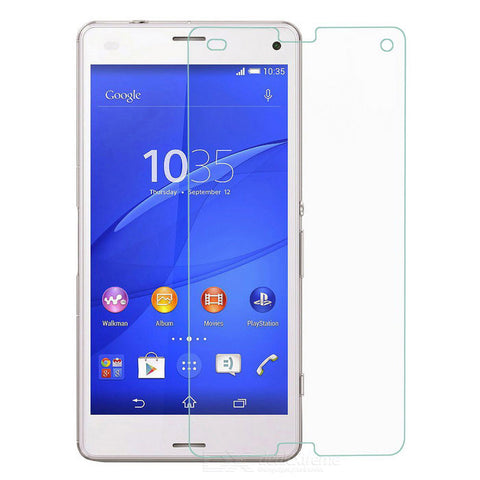 Sony Xperia Z3 - Premium Real Tempered Glass Screen Protector Film [Pro-Mobile]
