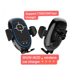 WUW Fast Wireless Electric Car Charger for Air Vent WUW-W20