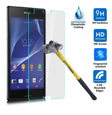 Sony Xperia Z3 Mini Tempered Glass Screen Protector