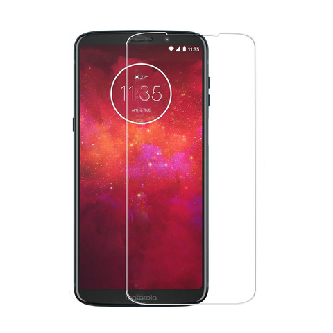 Motorola Moto Z3 Play - Premium Real Tempered Glass Screen Protector Film [Pro-Mobile]