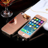 Apple iPhone 5 / 5S / SE - Colored Premium Real Tempered Glass Screen Protector Film [Pro-Mobile]