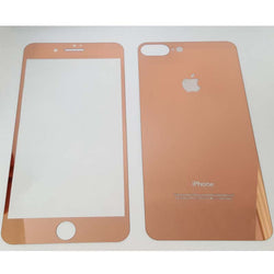 Apple iPhone 7 Plus / 8 Plus -  Colored Tempered Glass Screen Protector