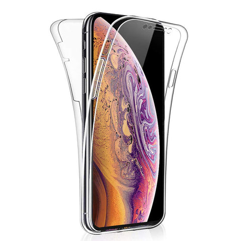 Apple iPhone XS Max - Full Cover Silicone Phone Case [Pro-Mobile]