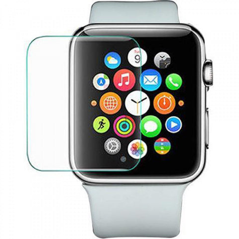 Apple iWatch - 3D Full Glue 38mm Premium Real Tempered Glass Screen Protector Film [Pro-Mobile]