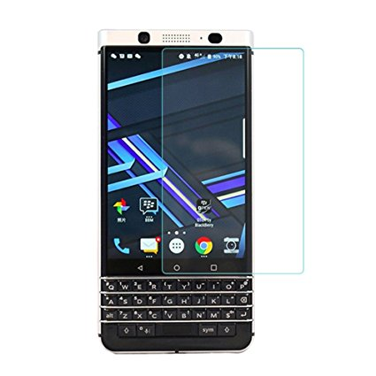 BlackBerry KEYone - Premium Real Tempered Glass Screen Protector Film [Pro-Mobile]