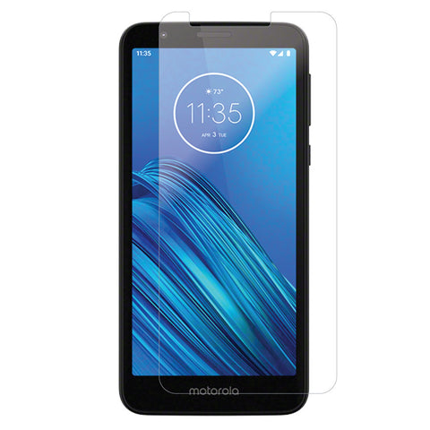 Motorola Moto E6 - Premium Real Tempered Glass Screen Protector Film [Pro-Mobile]