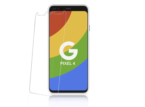 Google Pixel 4 - Premium Real Tempered Glass Screen Protector Film [Pro-Mobile]