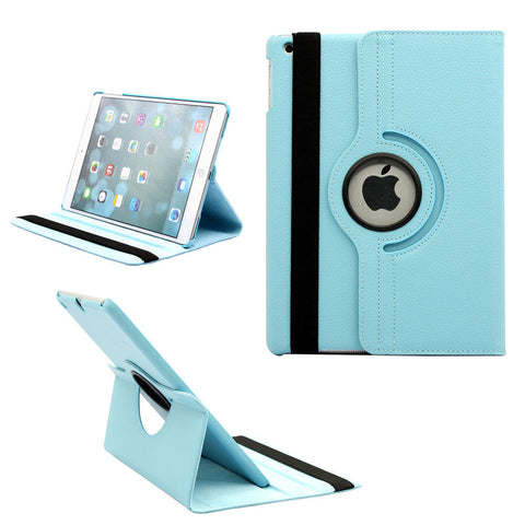Apple iPad 9.7 5th 2017 / 6th 2018 - 360 Rotating Leather Stand Case Smart Cover [Pro-Mobile]
