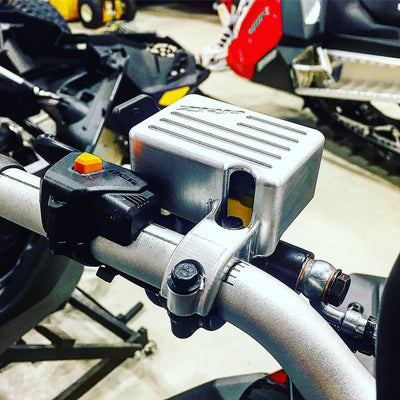 ZRP Billet Brake Reservoir Guard | Ski-Doo