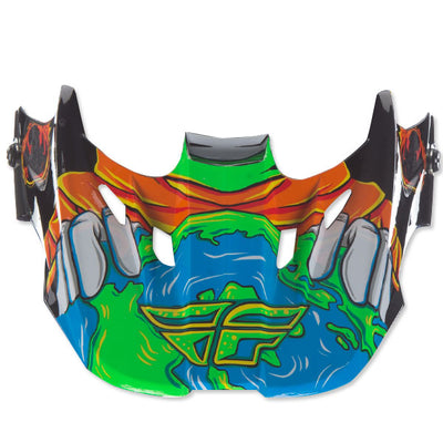 Fly Kinetic Invazion Youth Helmet Visor - PeakBoys