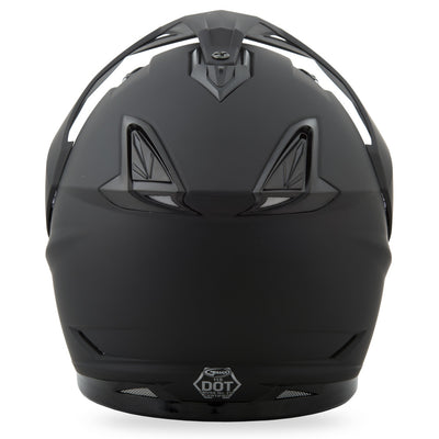GMax GM11 Solid Snow Helmet with Dual Lens Shield