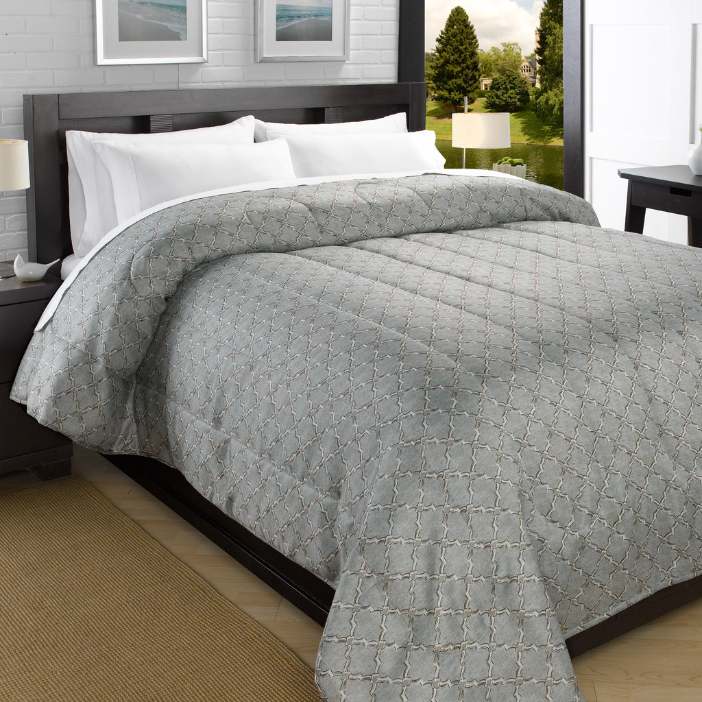 Iconic Printed Down-Alt Ultra Lightweight Comforter