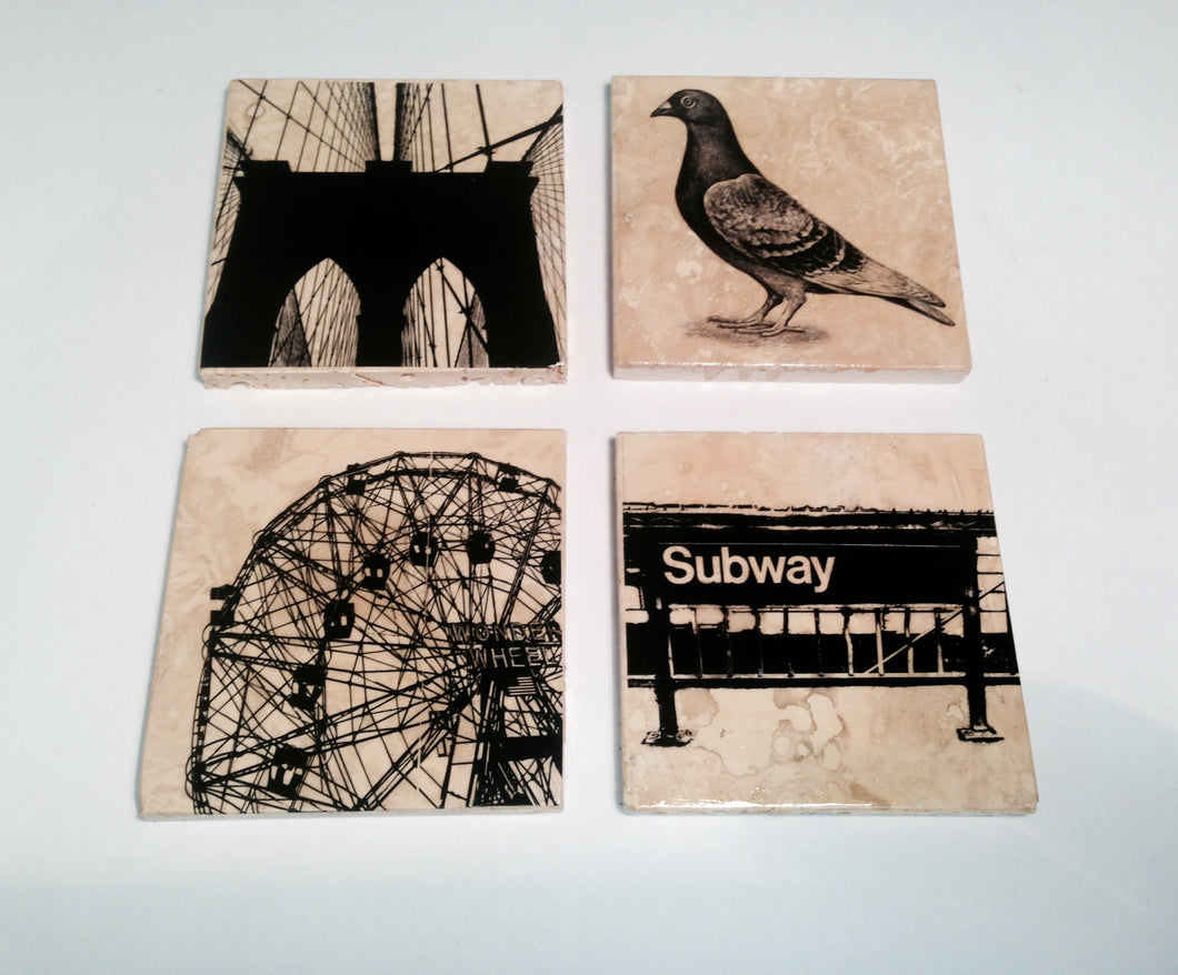 Brooklyn Coaster Set