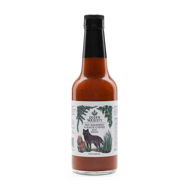 Red Habanero & Black Coffee Hot Sauce 5oz