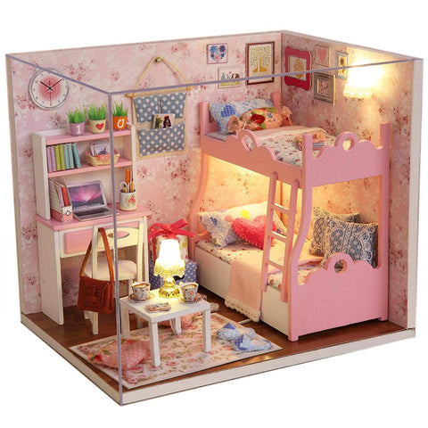 Early Christmas Deal - Wooden Dollhouse