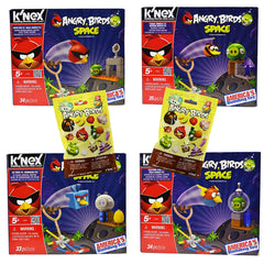 Angry Birds K'NEX 4 Set Value Pack