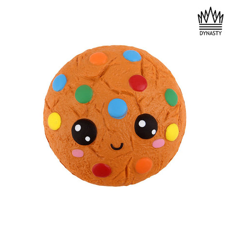 Flash Sale - Colorful Cookie Face Squishy Toy