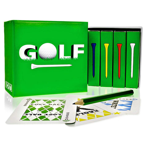 GOLF Card Game 4 Deck Box Set