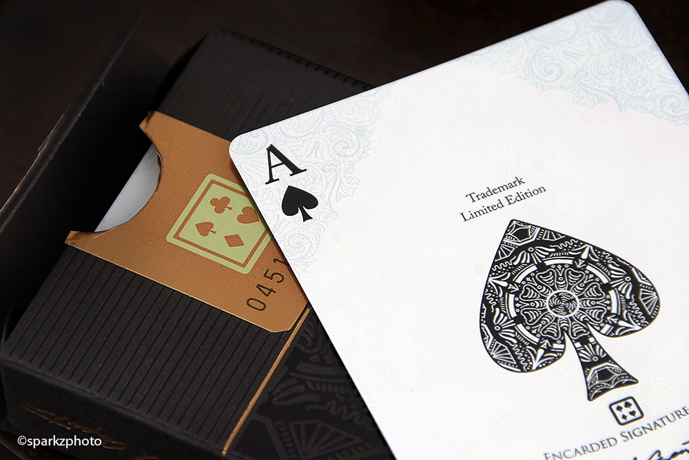 CHANCELLOR PLAYING CARDS ENCARDED SIGNATURE SERIES - Overkards ...