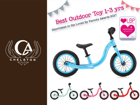 Chelston Rookie Balance bike - Loved by parents award 2017
