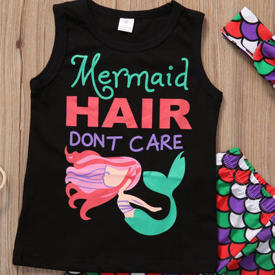 Mermaid Hair Dont Care Combo