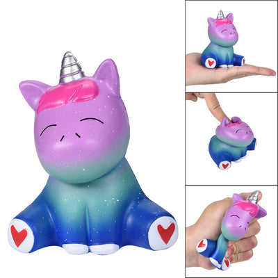 Squishies Galaxy Unicorn Scented Slow Rising Squeeze