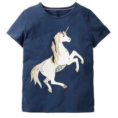 Baby Girl Clothes Children T shirts for Girls Summer