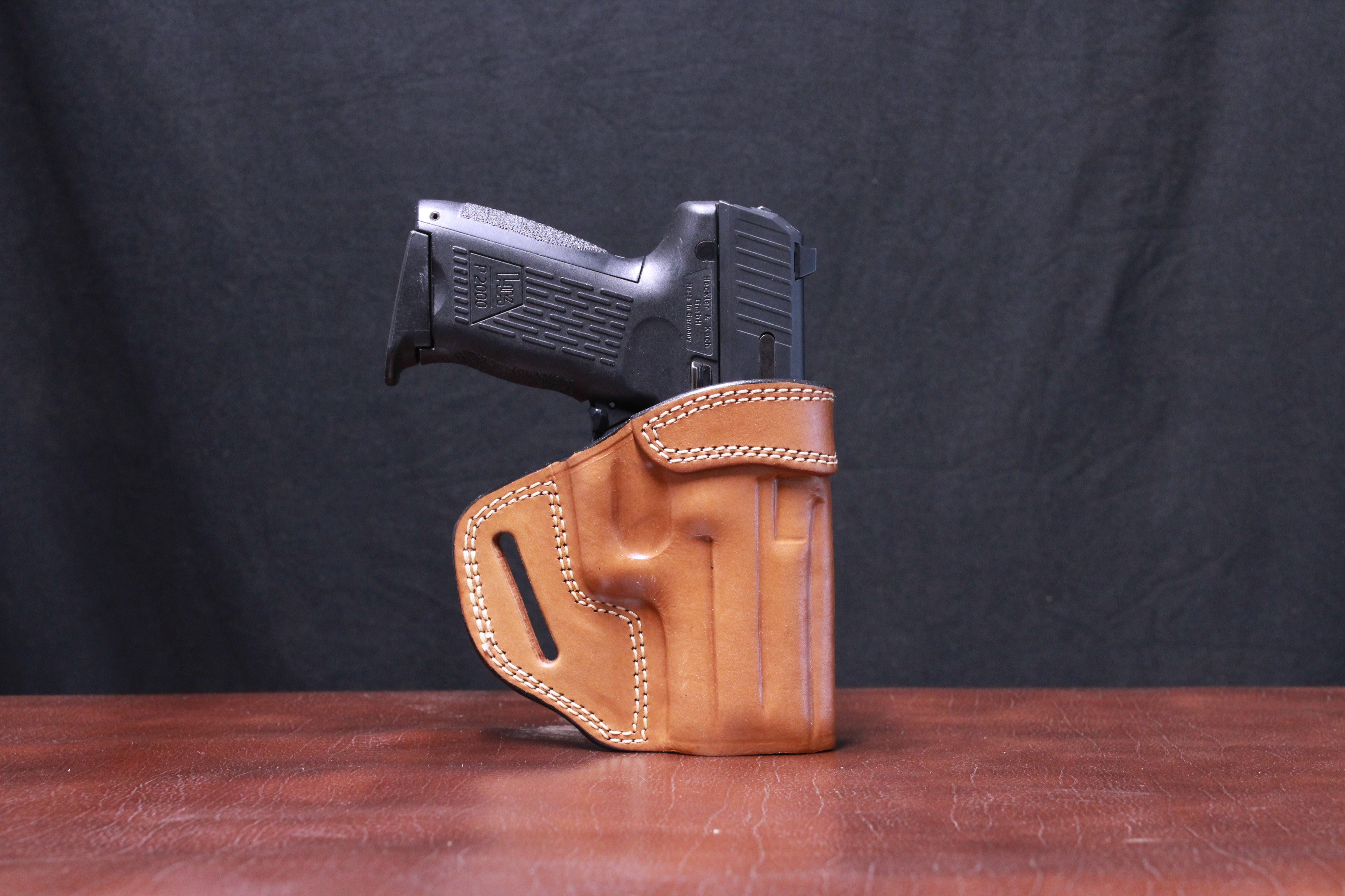 H&K P2000 Texas Strong Side in Tan