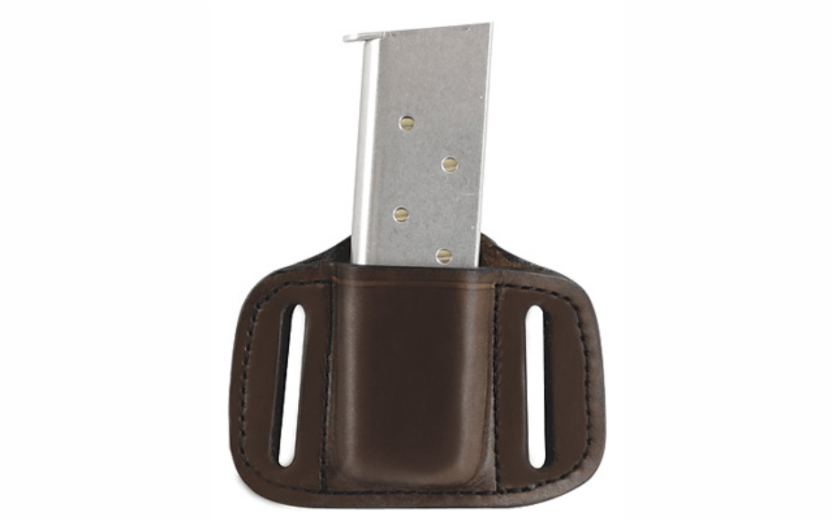 9mm Single Stack 1911 Bikini Single Holder (86S)  in Brown