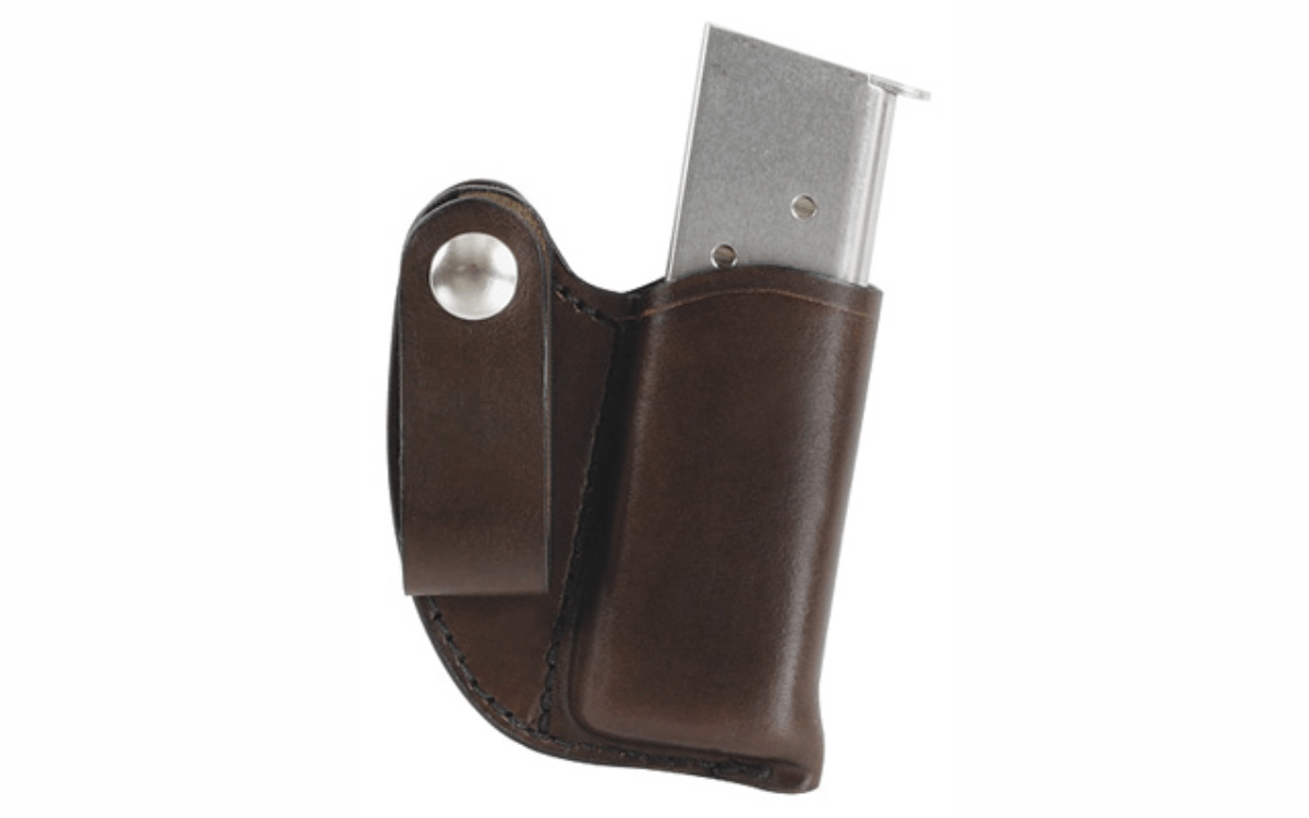 .380 1911 Double Stack IWB Mag Holder (IMH) in Black