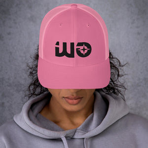 Pink Way Out Trucker Cap