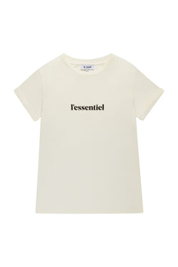 L'essentiel Off White T-shirt