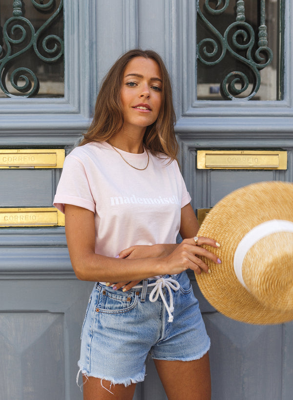 Mademoiselle Light Pink T-shirt