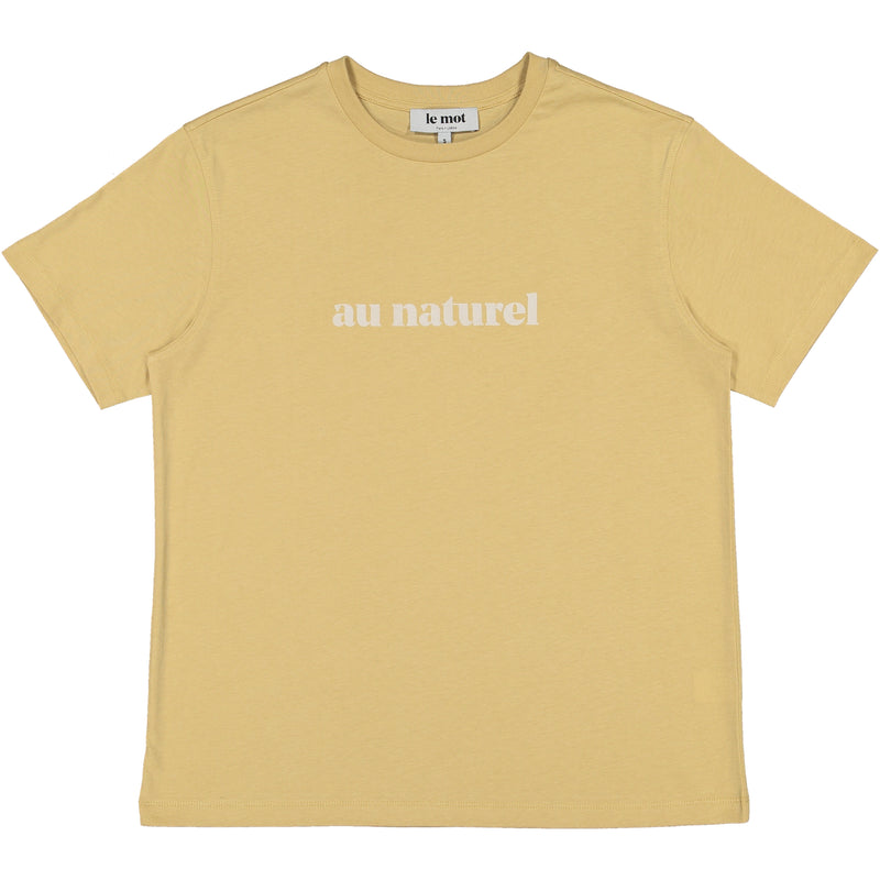 Au Naturel Beige T-shirt