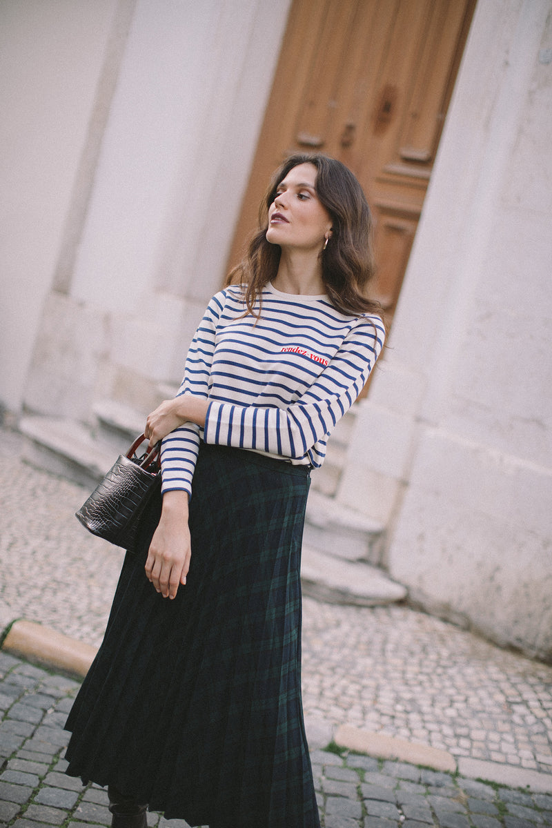 Rendez-vous longsleeve striped t-shirt