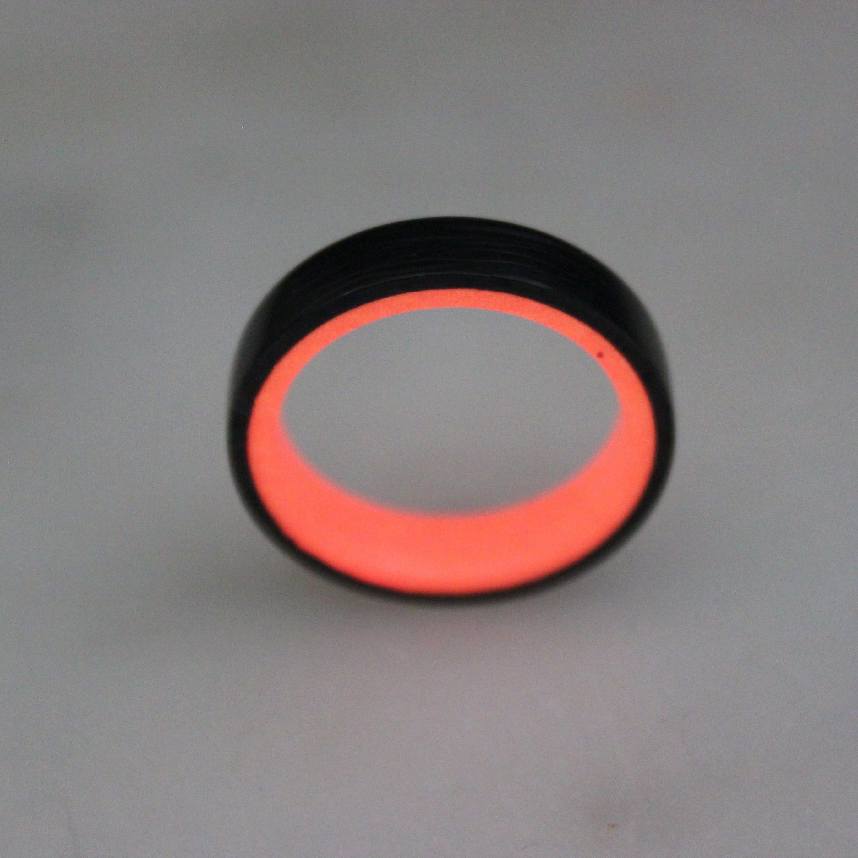 Fire Carbon Fiber Lume Ring