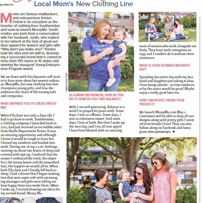 Featured in Tampa Bay Parenting Magazine