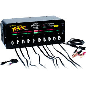 021-0147- 10 Bank Battery Tender- 12V at 2A Battery Charger (240V)