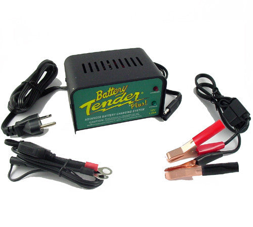 Battery Tender Plus 021-0156 - 12V 1.25A Gel Battery Charger