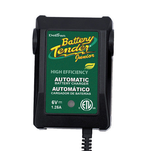 Battery Tender Plus 022-0196 - 6V 1.25A Battery Charger