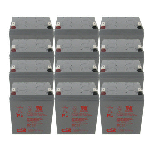 12 x CSB HR1227W High Rate UPS Batteries