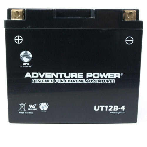 Motorcycle Battery for YT12B-4 (Sealed AGM)