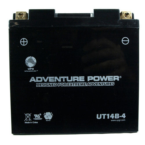 Motorcycle Battery for YT14B-BS (Sealed AGM)