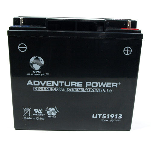 Kinetic - 51913 PowerSports Battery (Sealed AGM)