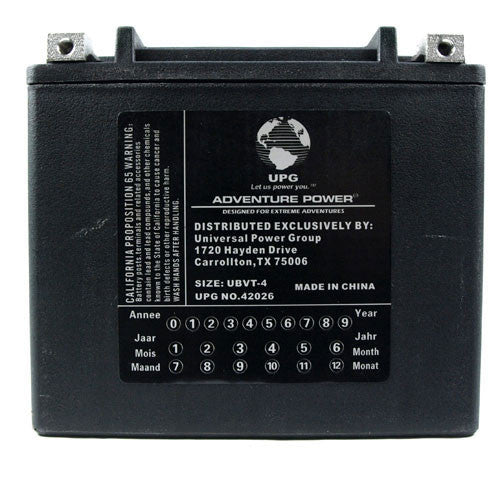 Kinetic - YTX20L-BS PowerSports Battery (V-Twin Sealed AGM)