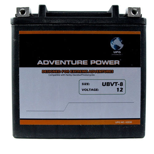 Motorcycle Battery for 65948-00 / YTX14-BS (Sealed AGM)