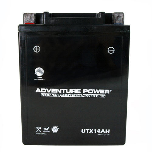 Motorcycle Battery for YTX14-AH (Sealed AGM)