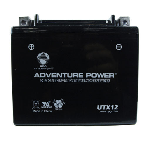 Motorcycle Battery for YTX12-BS (Sealed AGM)
